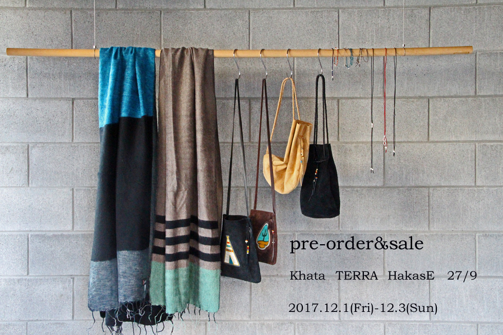 Khata -TERRA -HakasE -27/9 pre-order and sale