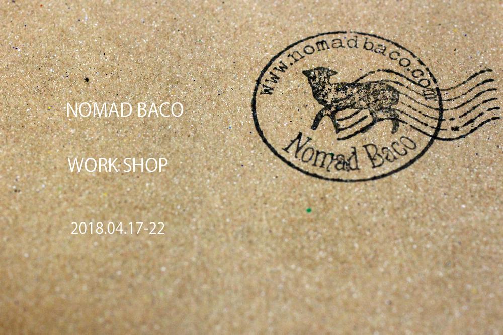 NOMAD BACO wark shop
